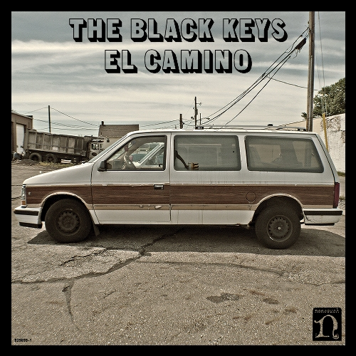 The Black Keys' album El Camino cover